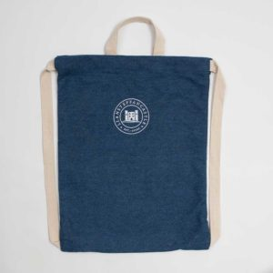 Denim Drawstring backpack